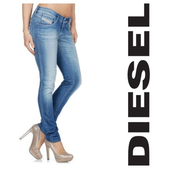 20e081ddce9 Diesel Denim - Diesel Ramy's Distressed Stretch Jeans 28x32